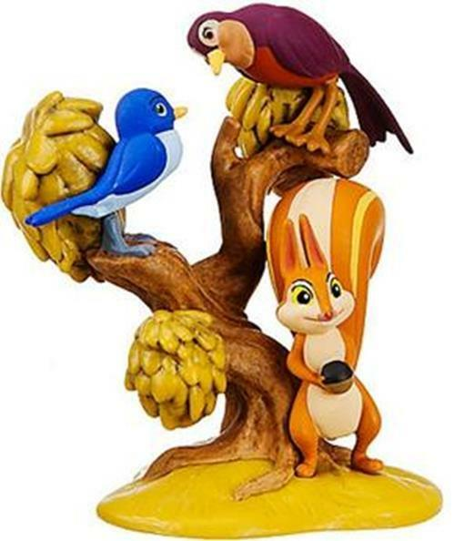 SOFIA THE FIRST 2 BIRDS & WHATNAUGHT Disney PVC TOY Figure CAKE TOPPER FIGURINE!