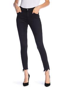 d5cfc356a488 NWT AG Farrah High Rise Frayed Hem Skinny Ankle Jeans Size 27 ...