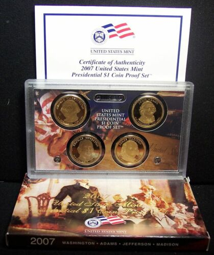 Deep Cameo Lot! 2007-S Presidential Proof Set
