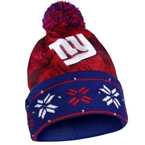 4c554c800 Details about NFL Big Logo Light Up Knit Beanie - Pick Your Team - FREE  SHIPPING!