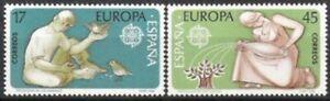 Modeste Espagne Nº 2726/27 ** L'europe, Cept 1986, Cachet