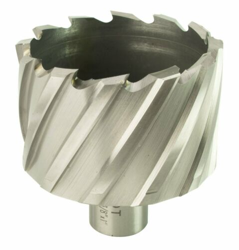 "Steel Dragon Tools® 2-3//8/"" x 1/"" HSS Annular Cutter with 3//4/"" Weldon Shank"