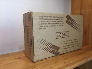 Empisal Knitmaster 560 LC pizzo CARROZZA SILVER REED Macchina per Maglieria-Boxed