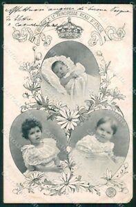 Reali Royalty Savoia Mafalda Alterocca 3855 cartolina