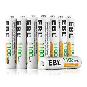 20x EBL 1100mAh AAA Rechargeable Battery