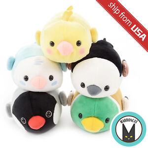 Details about Japan Amuse Tsumeru Mocchiko Kotori Tai Mochi Soft Fluffy  Bird Standard Plush US