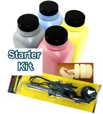 (STARTER KIT) 4 Toner Refill for HP Pro M377dw, M452dn, M452dw + 4 Chip + TOOL