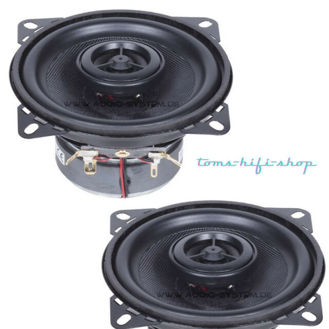 Audio System MXC-100 EVO 10cm Auto Lautsprecher Set 200 Watt 2-Wege Boxen MXC100