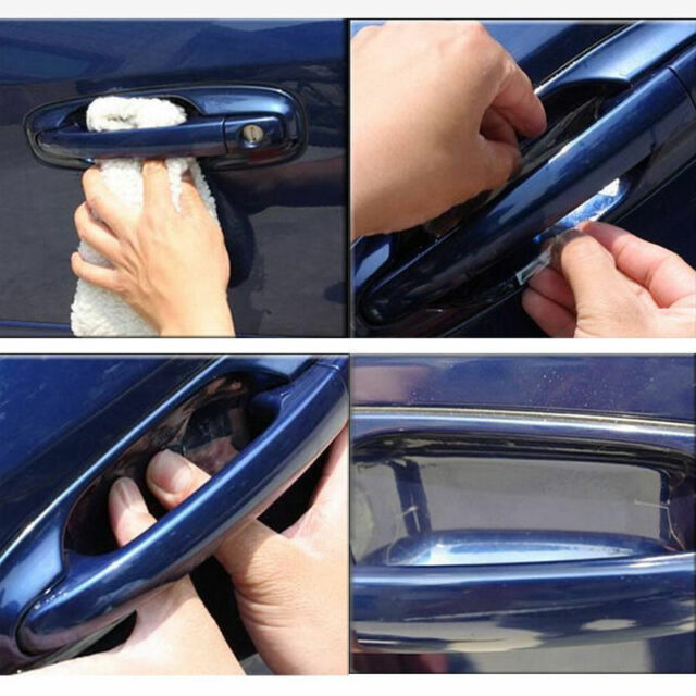20x Car Auto Pickup SUV Door Handle Cup Invisible Scratch-Protect Film Sticker