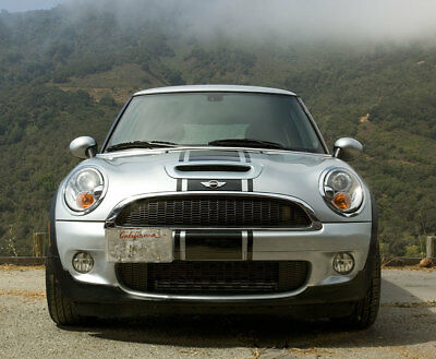 "Mini Cooper 14"" Center Rally stripes Stripe Graphics Fit All Model Bonnet Boot"