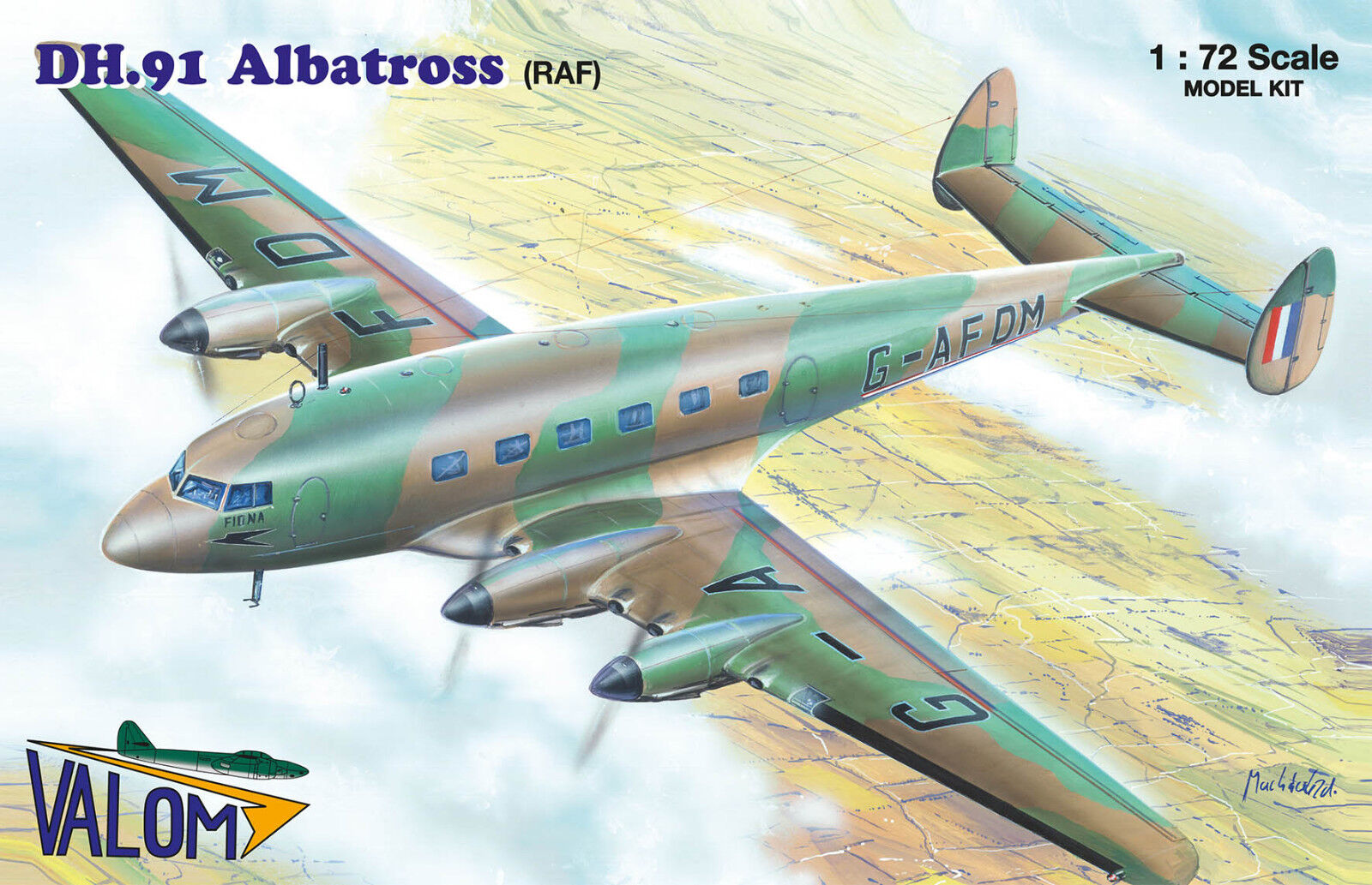 Valom 1 72 De Havilland DH.91 Albatross RAF plastic kit