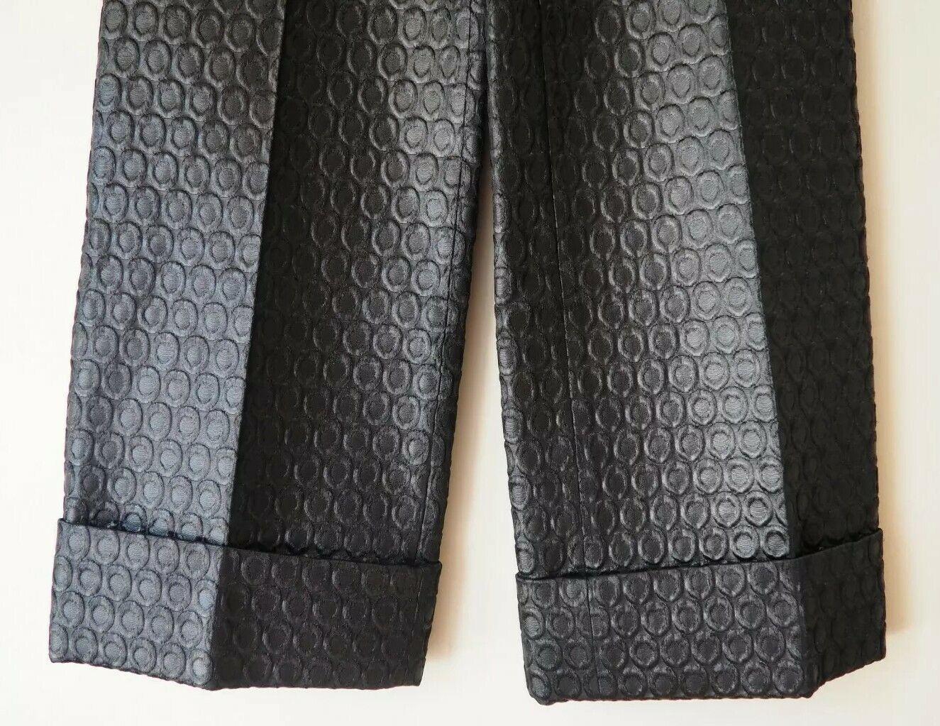 PRADA 1990's Vintage Pants Trousers Circular Desi… - image 3