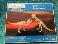 Creatology: Wooden Puzzle Tyrannosaurus 2 Puzzles