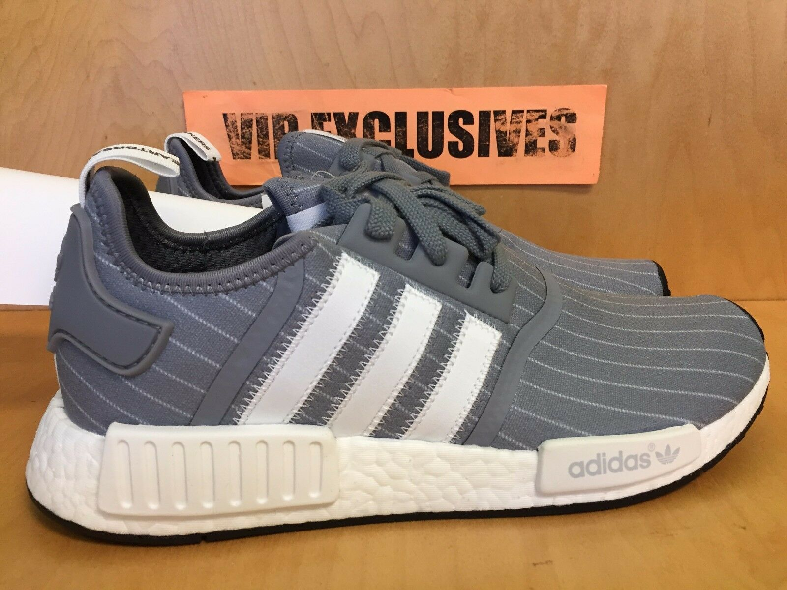 Adidas NMD Gray R1 Beckman gris - blanco los Heartbreakers Gray NMD Nomad Runner bb3123 9ee630