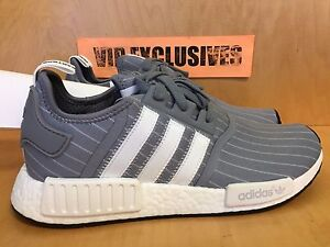 a100a6680 Adidas NMD R1 Bedwin Grey White The Heartbreakers Gray Nomad Runner ...
