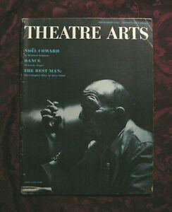 THEATRE-ARTS-September-1961-DANCE-Noel-Coward-Eugene-Ionesco-Gore-Vidal