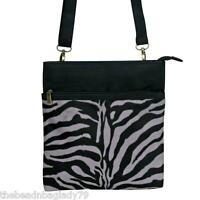 Passion For Fashion Zebra Stripe Animal Bag Crossbody Tablet Purse