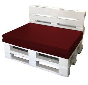 Cuscini Seduta Divano.Cuscino Per Bancale Misura 80x120x15 Seduta Divano Pallet Ecopelle