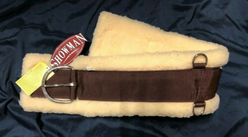 24 28 30 32 34 36 Western Soft Thick Fleece Super Girth Cinch BLACK BROWN MAIZE