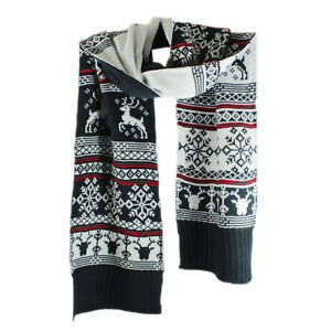 Christmas Scarf.Details About Avon Christmas Scarf Winter S Tale Acrylic Rectangular Approx 190cm X 22cm