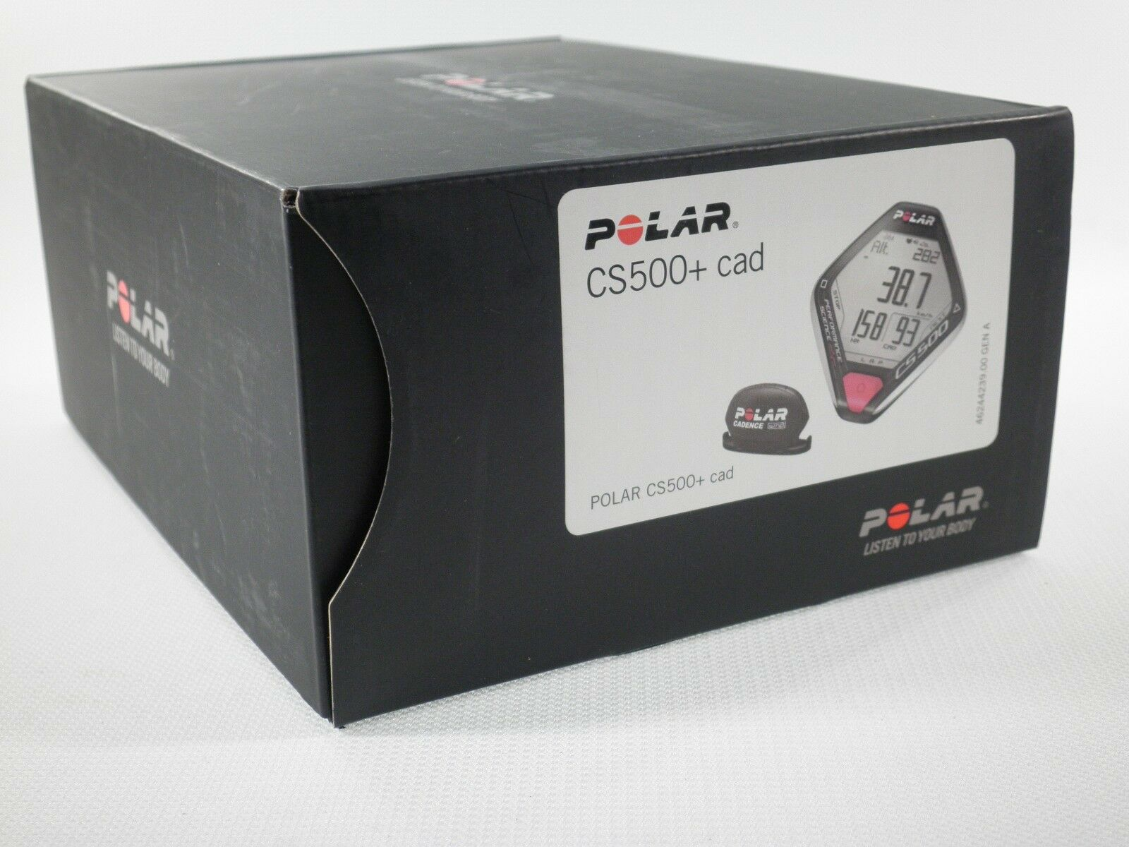 POLAR CS500 CAD  HEART RATE MONITOR SPORT RUN BIKE EXERCISE FITNESS 90043407  2