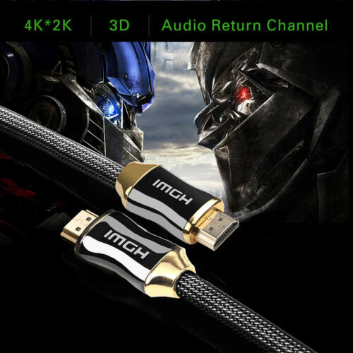 30FT HDMI Fiber Optic Cable 2.0b Premium High Speed 18.2Gbps 4K 60Hz HDR Dolby