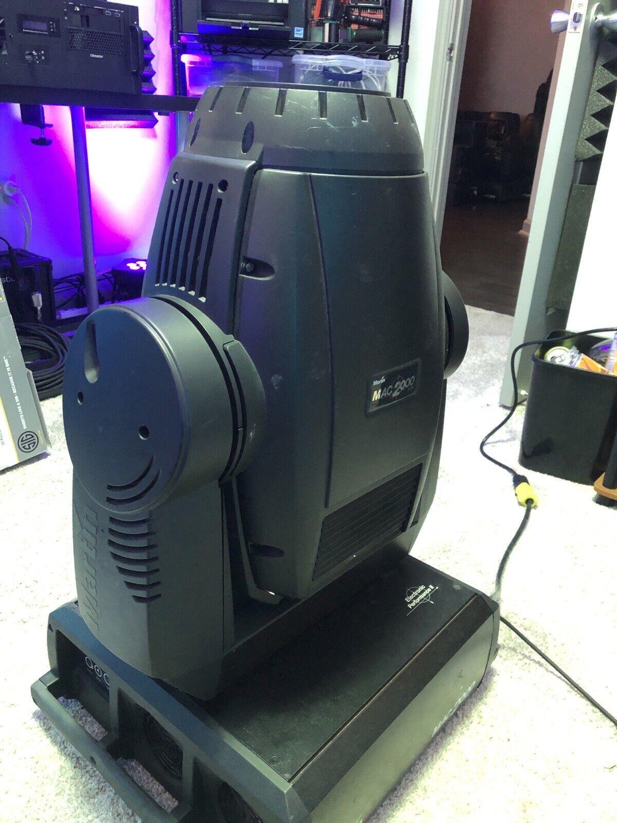 Martin Mac 2000 Performance II E Moving Head Stage Light - New Lamp Read