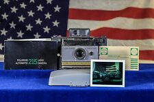 AAA Batteries Polaroid Land Camera 215 Film Tested Restored OK STARTER