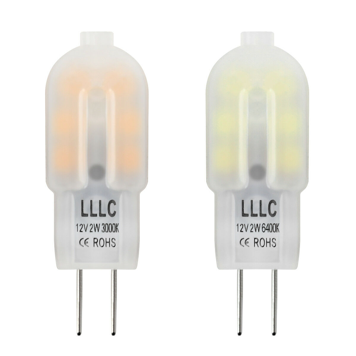 G4 Led 2w 20w Capsule Light Bulb True Size Replacement