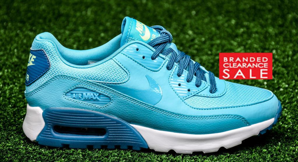 BNIB New Women Nike Air Max 90 Ultra Essential bluee size 3 4 5 uk