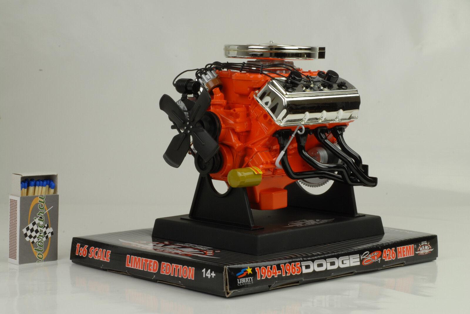 Moteur modèle moteur MODEL moteur DODGE 426 Hemi race 1 6 Liberty Classic