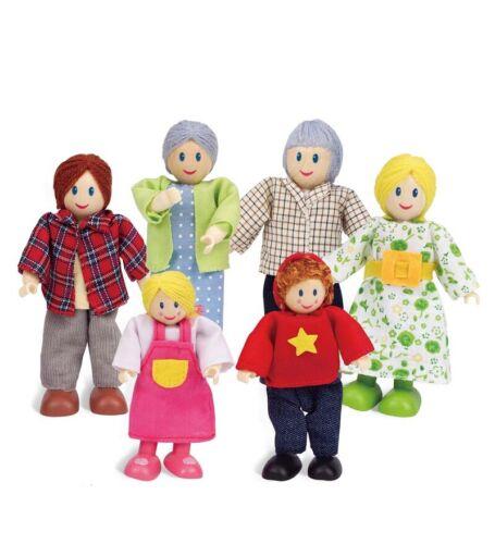 Dollhouse Dolls Contemporary All-Season Dollhouse Doll Family
