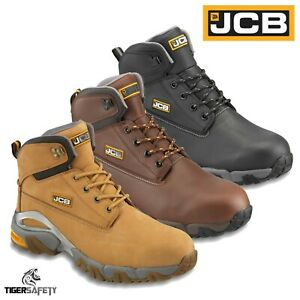 b6b09d6b8cd Details about JCB 4X4 S3 Wide Fit Waterproof Steel Toe Cap High Quality  Work Safety Boots PPE