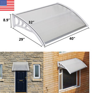 Door Window Canopy Awning Porch Sun Front Shade Shelter Outdoor Patio Rain Cover Ebay