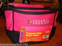 Champion Federal Premium Trap Shooting Shell Pouch Range Bag Choke Tube Holder