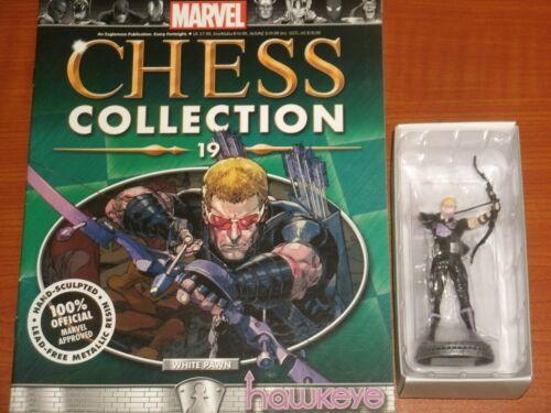 Spider-verse x-men By Eaglemoss Marvel Collection Pièces d/'échecs avec magazines