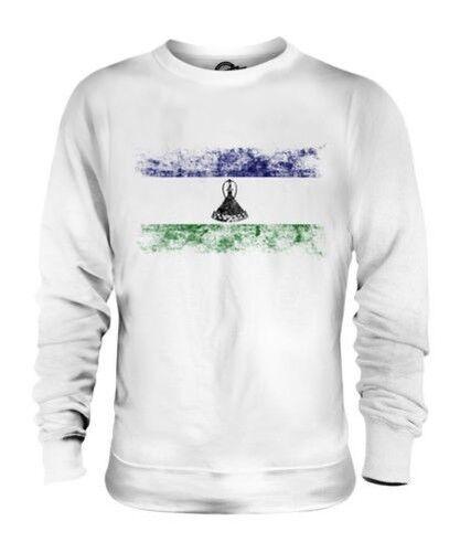 Lesoto Bandera Apenada Unisex Suéter Basotho Camisa Camiseta de Fútbol Regalo