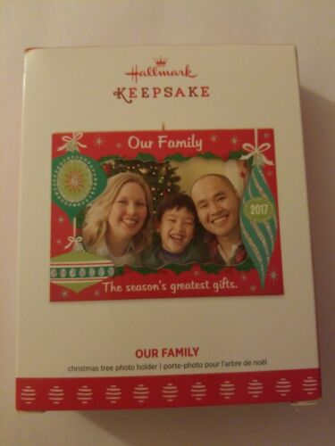 2017 Hallmark Keepsake Ornament Our Family Pitcher Holder
