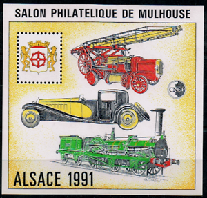 Timbre France Bloc Cnep N°13 Neuf** Alsace ( Salon Philatélique De Mulhouse ) Grand Assortiment
