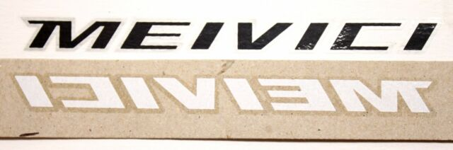 Genuine NOS Serotta Meivici Ultra Thin Bike Frame Decals OEM Multiple Colors