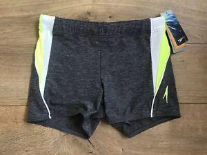 84feca669ea00 Speedo Fitness Splice Square Leg Jammer Swim Trunks Bathingsuit Mens ...