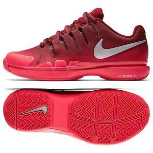041970c939b2 Details about Nike WMNS Zoom Vapor 9.5 Tour 631475-602 Team Red Silver  Women s Tennis Shoes