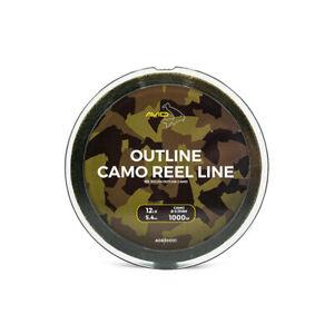 Avid-Carp-1000m-Outline-Camo-Reel-Line-Mono-All-Breaking-Strains-Avaliable