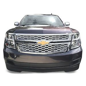 Chrome-Grille-Overlay-FITS-2015-16-17-2018-2019-2020-Chevy-Tahoe-Suburban-LS-LT