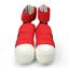 FESSURA Womens Mummy Shoes Croc Band Red
