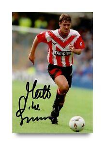 Matt-Le-Tissier-Signed-6x4-Photo-Southampton-England-Autograph-Memorabilia-COA