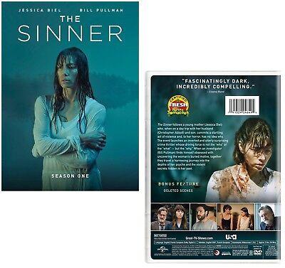 THE SINNER 1 (2017): Jessica Biel - Mystery/Crime TV Season Series - NEW  Rg1 DVD   eBay