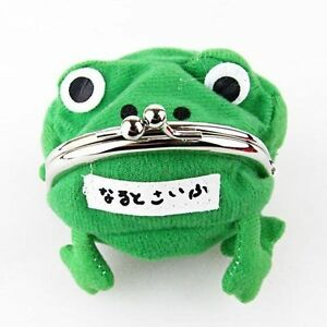 Home Uzumaki Anime Naruto Frog Shape Cosplay Coin Purse Wallet Soft Furry Plush Delicacies Loved By All