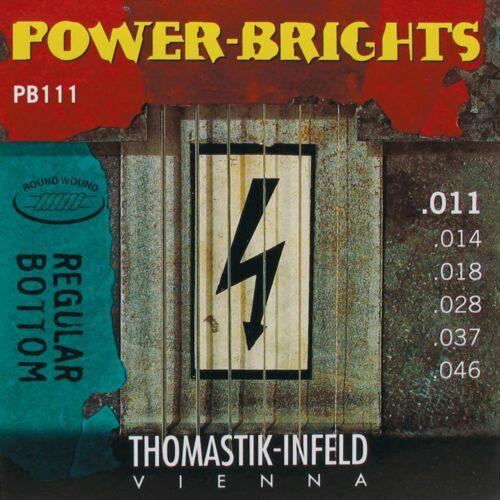 Thomastik PB111 E-Saiten 11-46 Power Brights medium