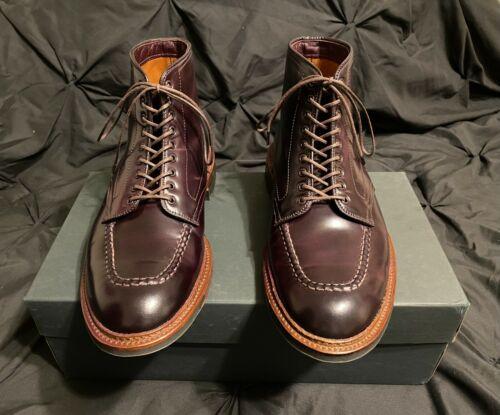 Alden Color 8 Shell Cordovan Indy Boot Size 8 E